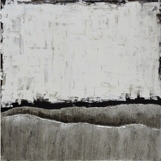 Martin Edwards 'White Atmosphere' Hand-Painted Fine Art Pucture