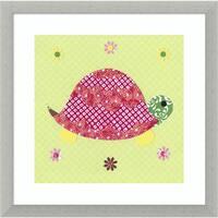 Framed Art Print 'Tortoise' by Rachel Taylor 17 x 17-inch