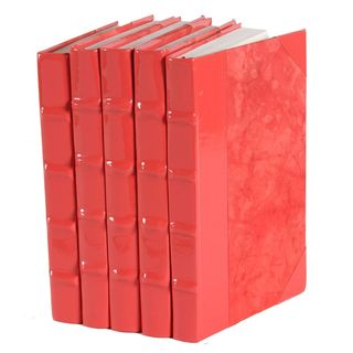 Patent Leather Books - Coral, S/5