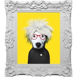 Empire Art - Pets Rock 'Soup' Canvas Giclee Under Glass with High-gloss Baroque Frames