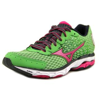 Mizuno Women's 'Wave Inspire 11' Green Mesh Athletic Shoes