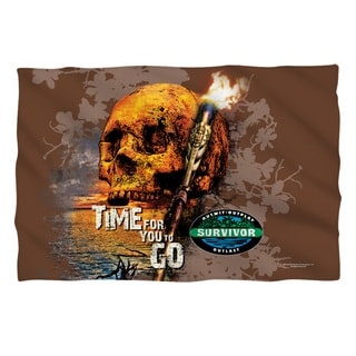 Survivor-Time To Go Pillow Sham