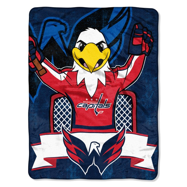 NHL 059 Capitals Mascot Micro Throw