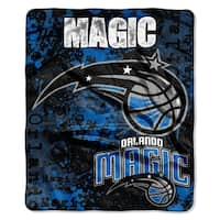 NBA 670 Magic Dropdown Raschel Throw