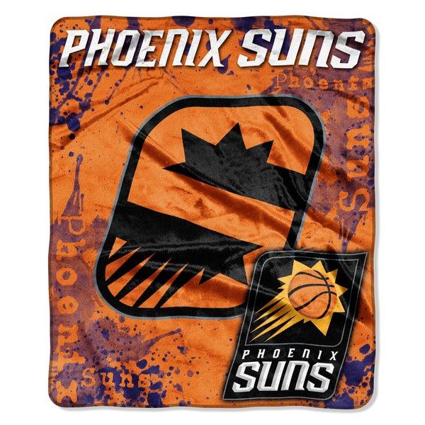 NBA 670 Suns Dropdown Raschel Throw