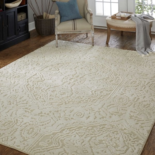 Mohawk Home Loft Francesca Cream Area Rug 8 X 10