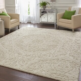 Mohawk Home Loft Francesca Cream Area Rug (8' x 10') - 8' x 10'
