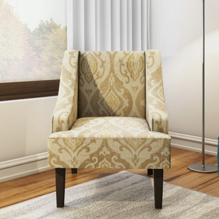 Shop Porch Amp Den Lyric Swoop Arm Accent Chair On Sale