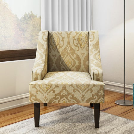 Los Feliz Lyric Swoop Arm Accent Chair Free Shipping Orders