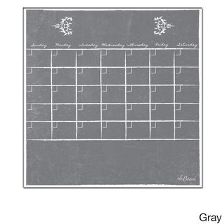 Large 15-Inch x 15-Inch Dry Erase Monthly Calendar Magnet (5 options available)
