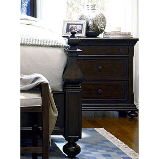 Paula Deen Down Home Nightstand in Molasses Finish