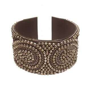 Cleopatra Charcoal Cuff (India)
