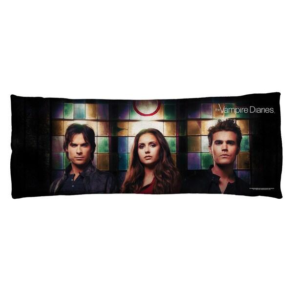 Vampire Diaries/Stained Glass Plush Fleece Body Pillow