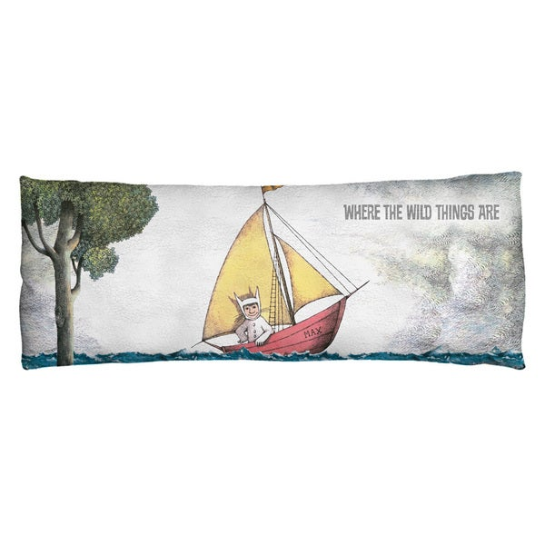 Where The Wild Things Are/Max'S Boat Plush Fleece Body Pillow