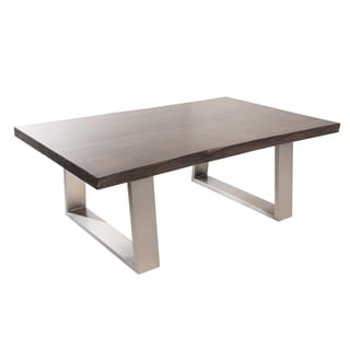 Live Edge Coffee Table Espresso (Canada)