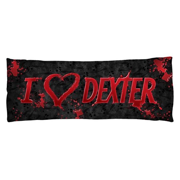 Dexter/I Heart Dexter Plush Fleece Body Pillow