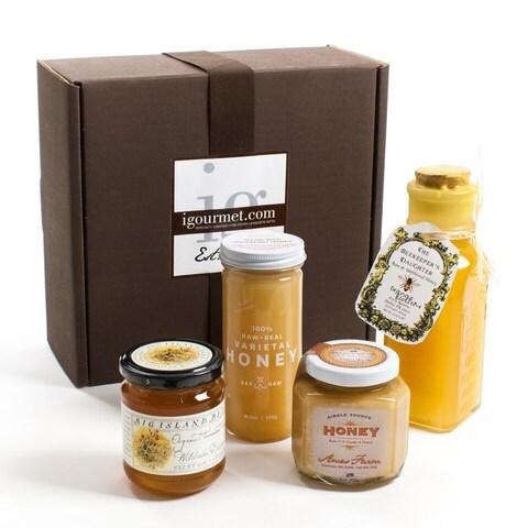 igourmet Raw Honey Gift Box