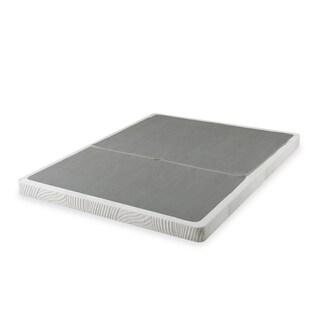 Priage 4-inch Full-size Low Profile BiFold Folding Mattress Foundation