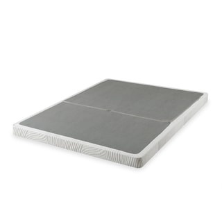 Priage 4-inch King-size Low Profile BiFold Folding Mattress Foundation