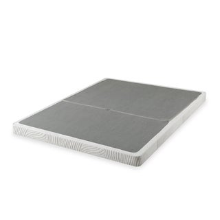 Priage 4-inch Cal King-size Low Profile BiFold Folding Mattress Foundation