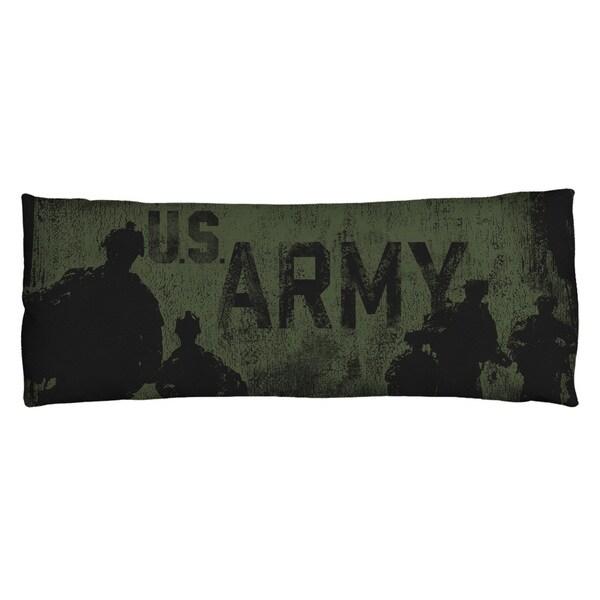Army/Strong Plush Fleece Body Pillow