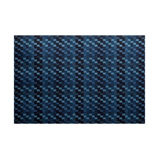 Mad for Plaid Geometric Print Indoor/ Outdoor Rug (4' x 6')