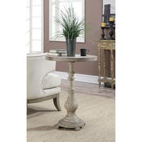 Convenience Concepts Wyoming Antique Finish Spindle Accent Table