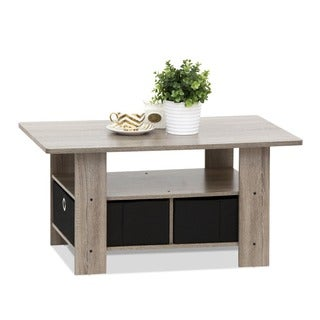 Pine Canopy Mendocino Coffee Table With Bin Drawer