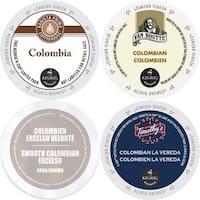 Colombia Coffee 96-ct K-Cup Variety Pack Barista Prima, Van Houtte Colombian Medium, Faro Smooth Colombian & Timothy's La Vereda