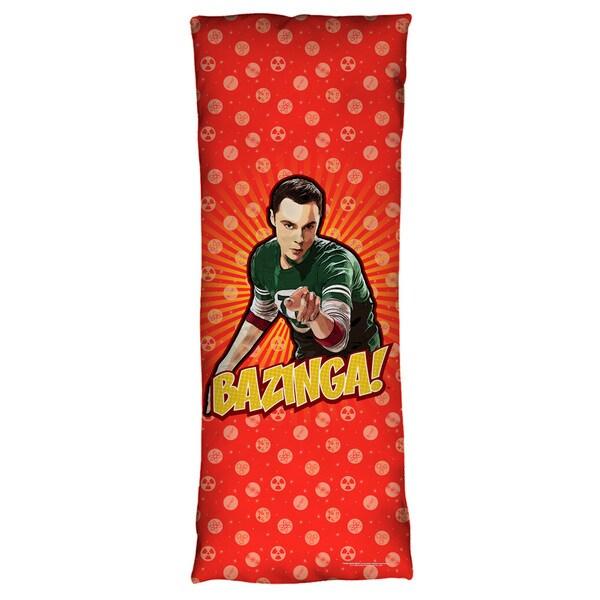 Big Bang Theory/Bazinga Microfiber Body Pillow