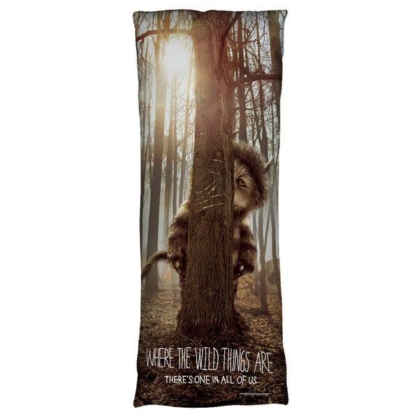 Where The Wild Things Are/Wild Thing Tree Microfiber Body Pillow