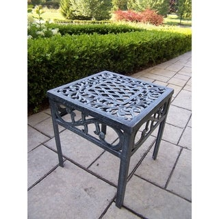 Dakota Cast Aluminum 17-inch Square Side Table