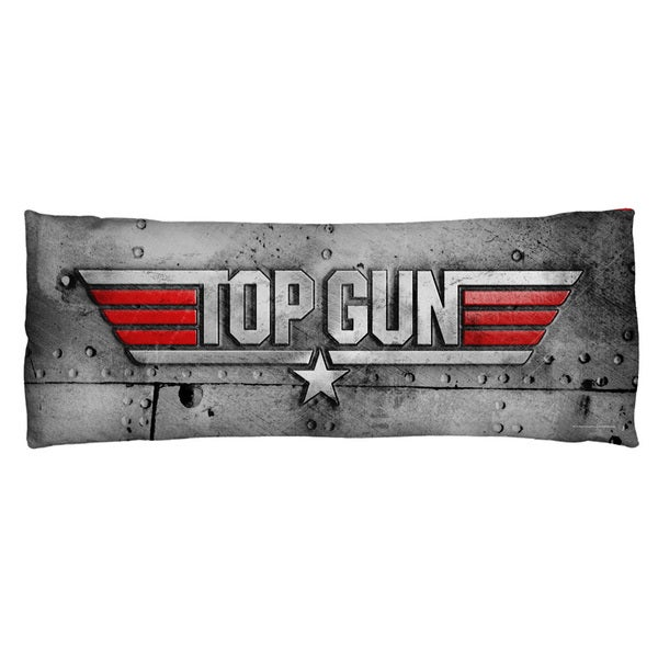 Top Gun/Logo Microfiber Body Pillow