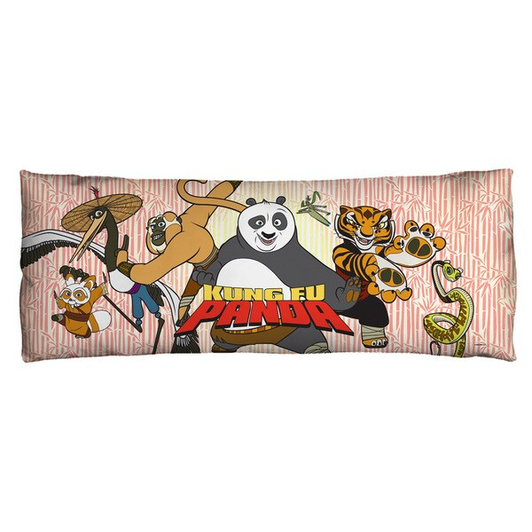Kung Fu Panda/Kung Fu Group Microfiber Body Pillow
