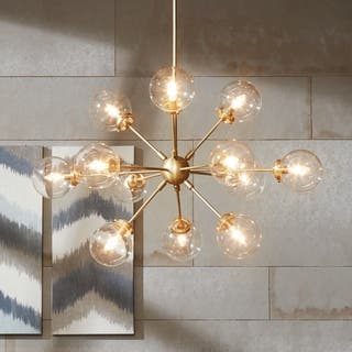 Buy modern contemporary chandeliers online at overstock our inkivy paige gold chandelier aloadofball Images