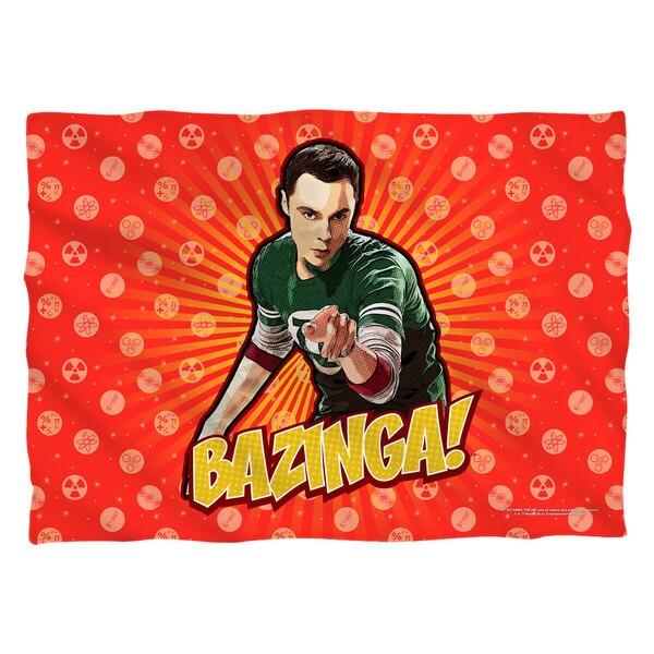 Big Bang Theory/Bazinga Polyester 20x28 Pillowcase