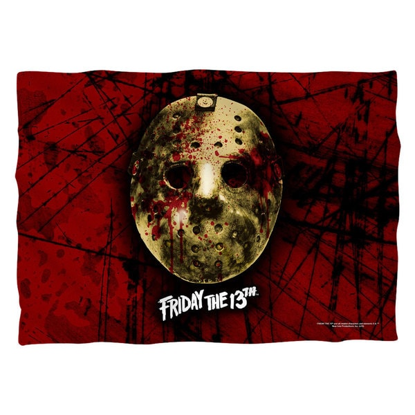 Friday The 13Th/Bloody Mask Polyester 20x28 Pillowcase