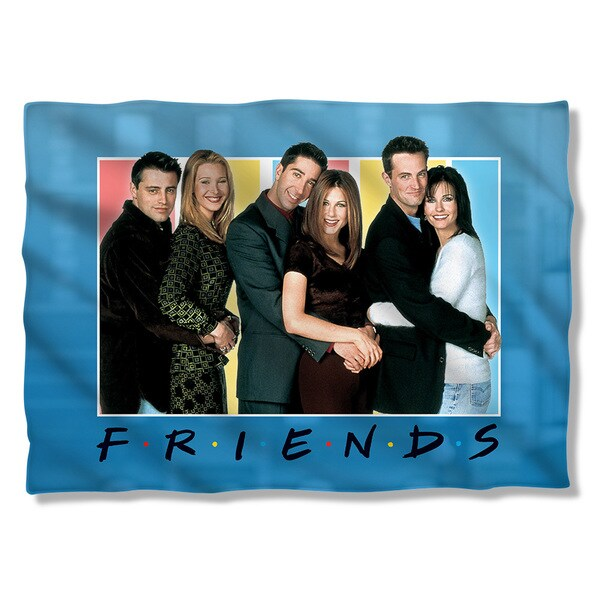 Friends/Skyline Pillowcase