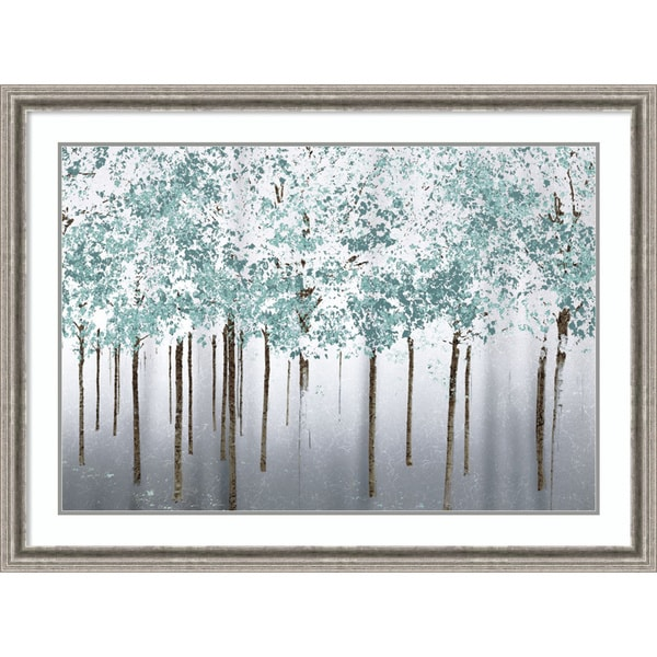 Framed Art Print 'Into the Woods' by Marvin Pelkey 43 x 32-inch