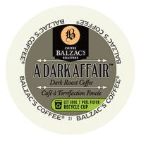 Balzac's Coffee Roasters Dark Affair, RealCup Portion Pack For Keurig Brewers