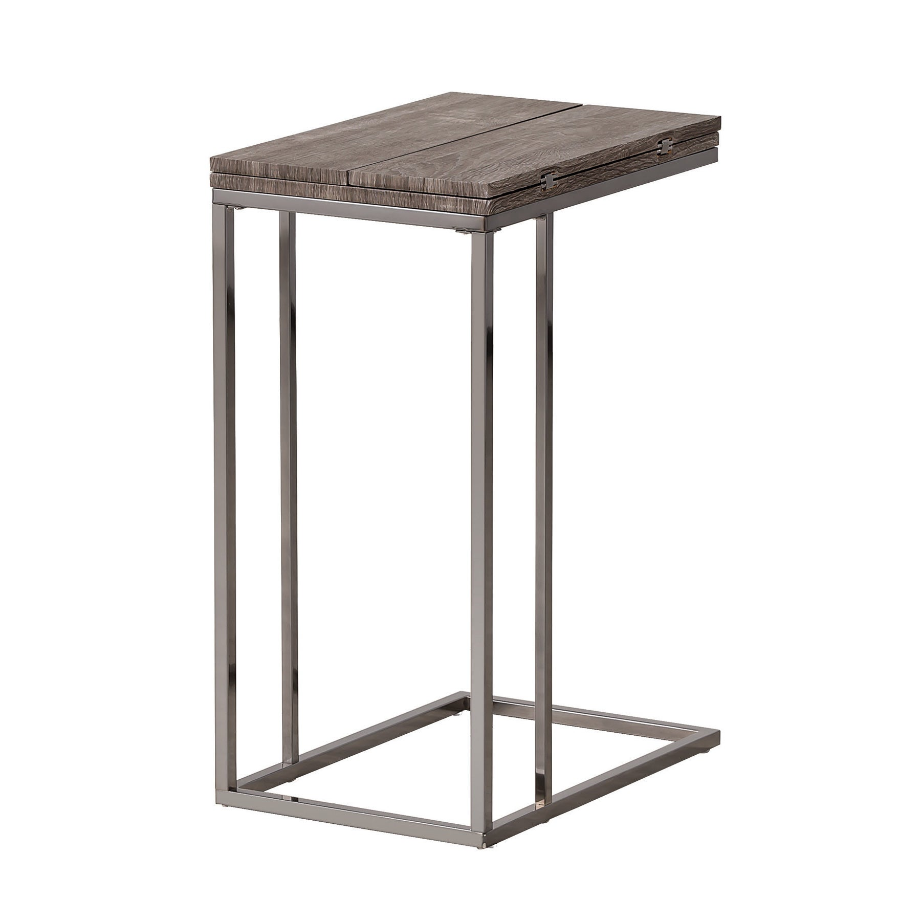 Super Details About Coaster Company Weathered Wood And Metal Snack Table 12 X Grey Short Links Chair Design For Home Short Linksinfo