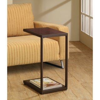 Coaster Company Modern Dark Brown Snack Table