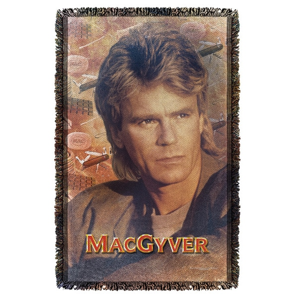Macgyver/Tools Of The Trade Graphic Woven Throw