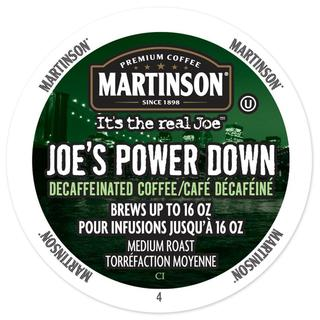 Martinson Coffee Power Down Decaf, RealCup Portion Pack For Keurig Brewers