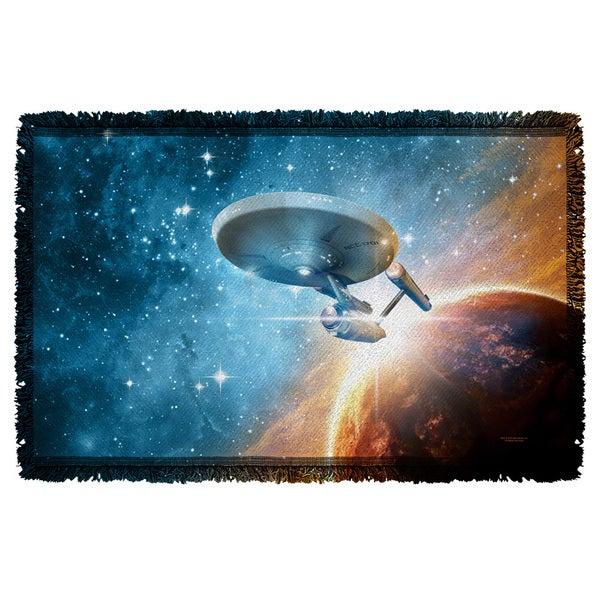 Star Trek/Final Frontier Graphic Woven Throw