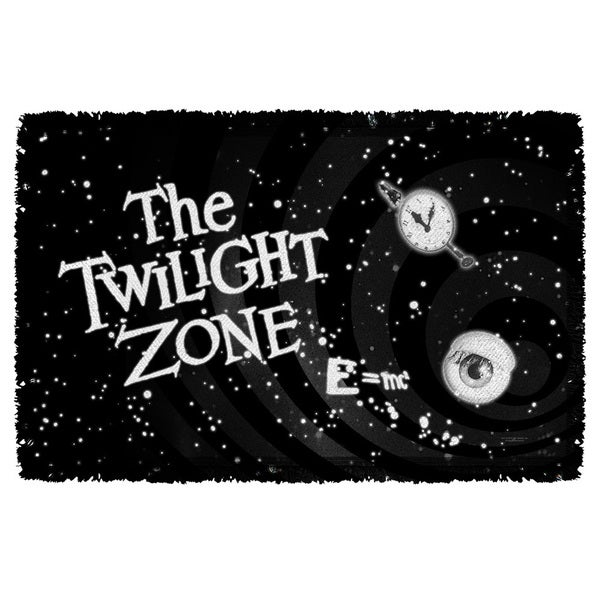 Twilight Zone/Another Dimension Graphic Woven Throw