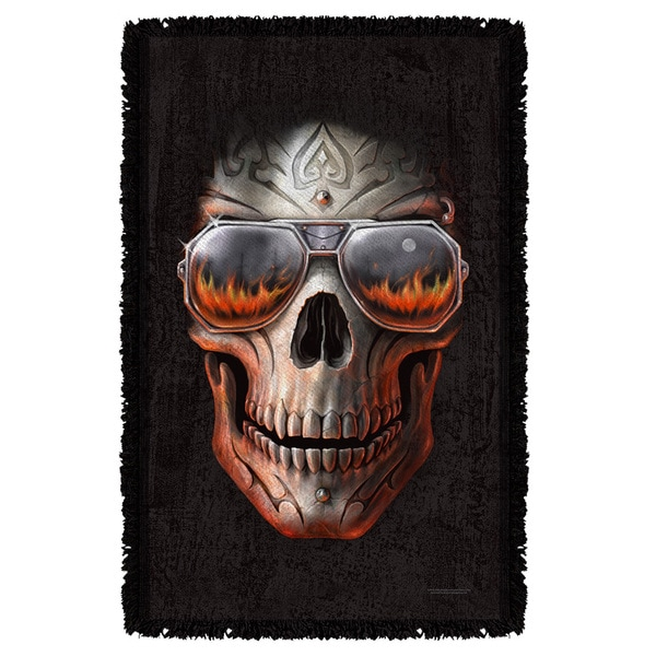Anne Stokes/Hellfire Graphic Woven Throw