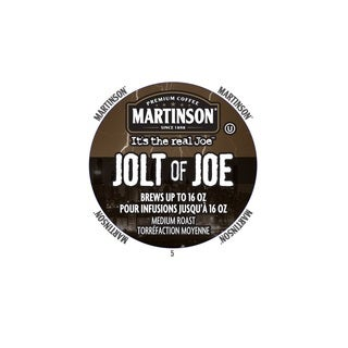 Martinson Coffee 'Jolt of Joe' RealCup Portion Pack For Keurig Brewers