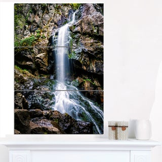 Waterfall in Sofia Bulgaria - Landscape Art Print Canvas