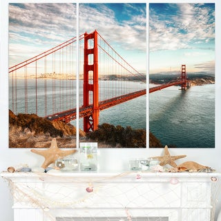 Golden Gate Bridge in San Francisco - Sea Bridge Canvas Wall Artwork
